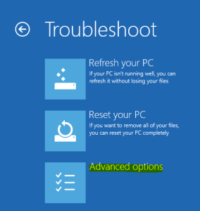 Solved Windows 8 & 8.1 Black Screen Issue 02